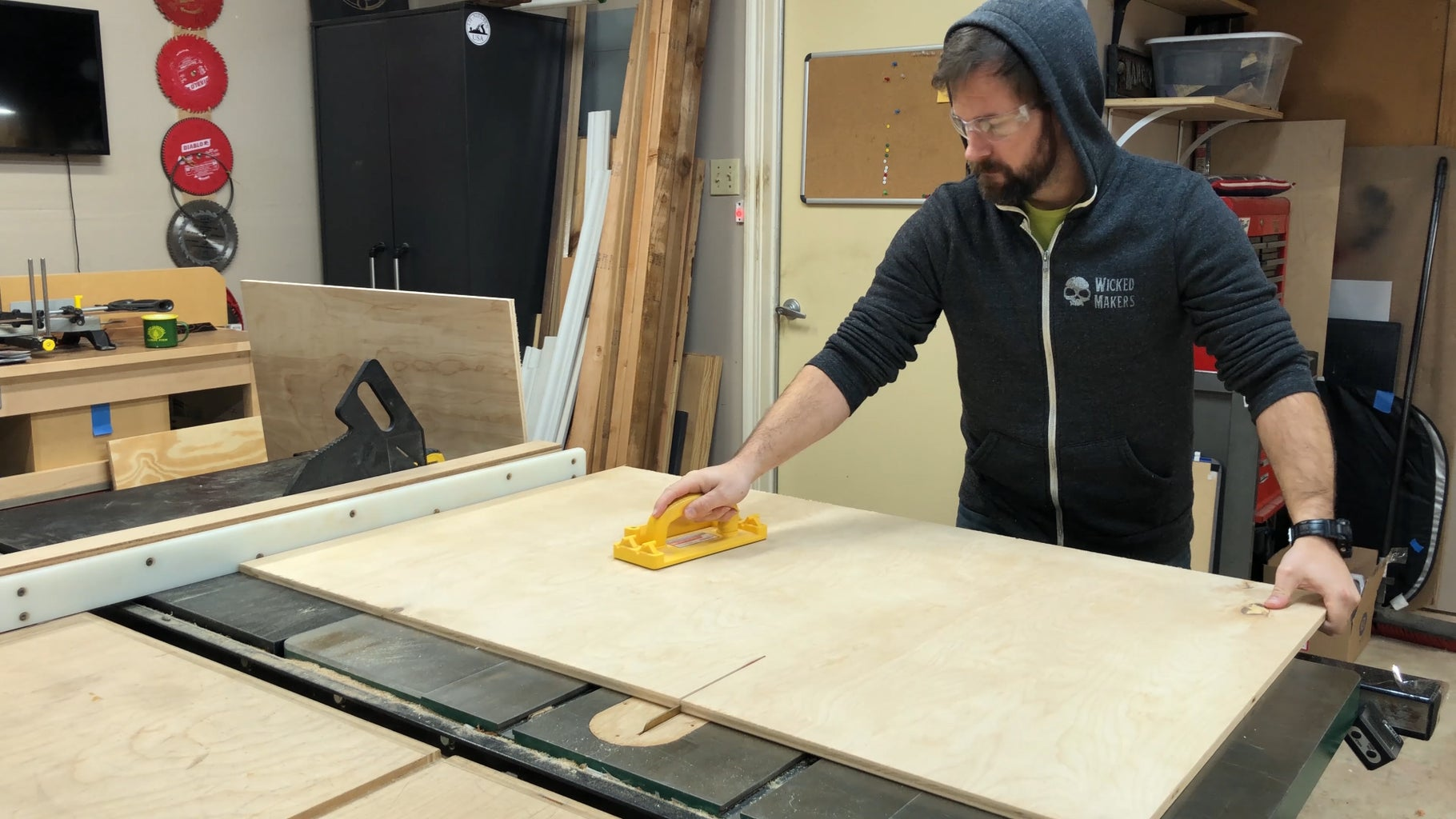 Prepping the Plywood for Carving