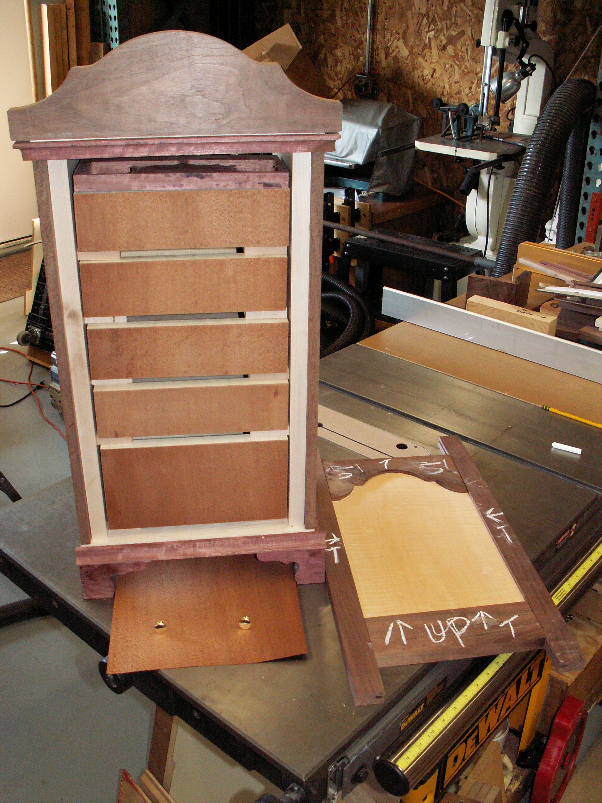 18th Century Spice Cabinet by 21st Century Woodworking