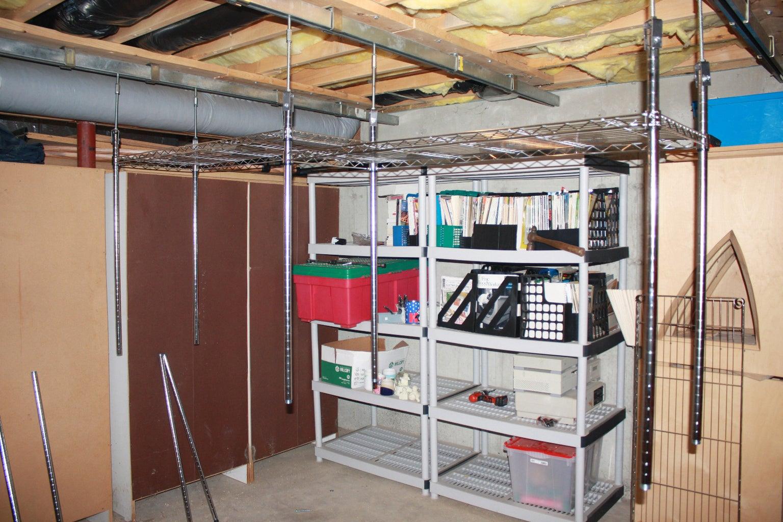 Assembling the Shelves