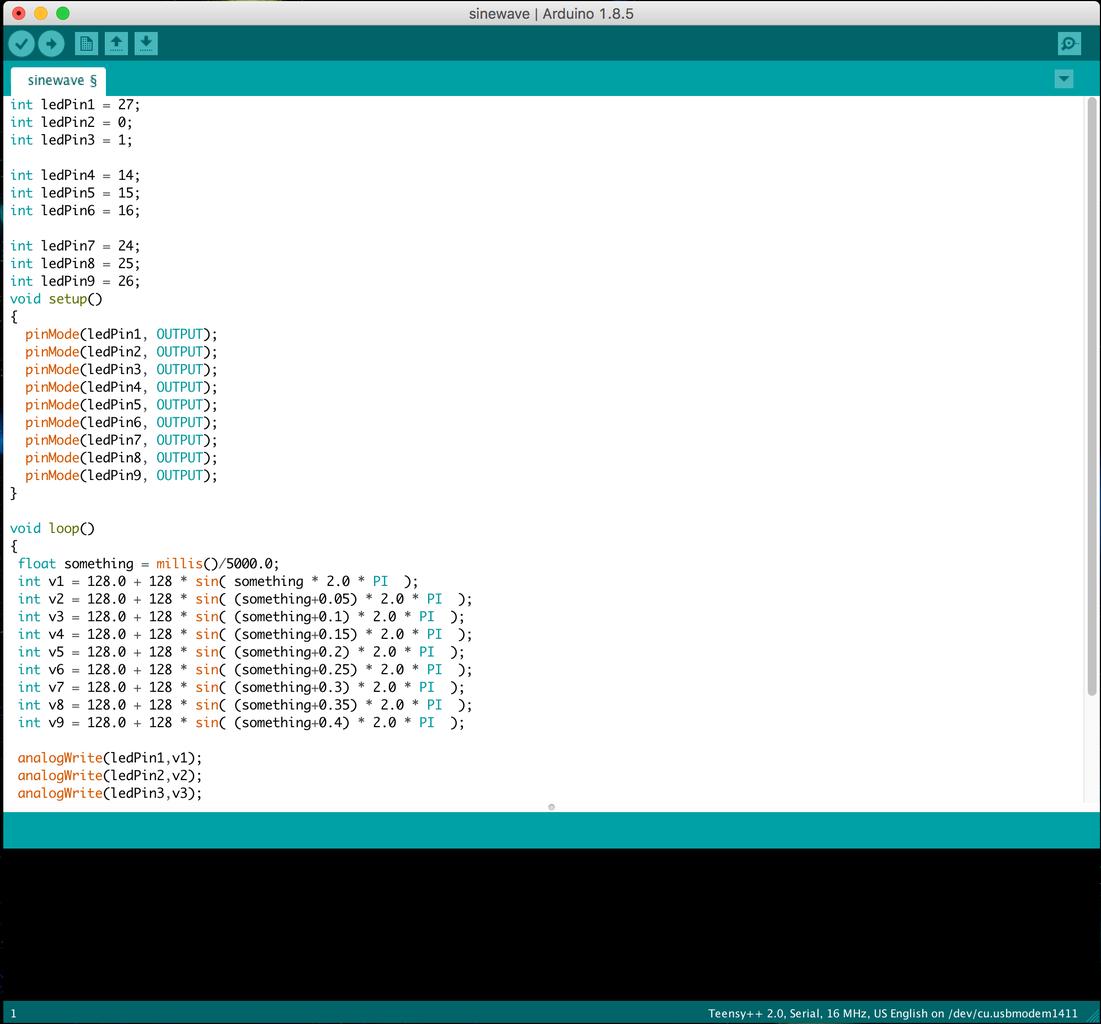 Program the Microcontroller