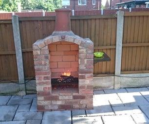 再生砖拱形烧烤