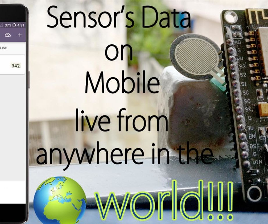 Live Monitoring Your Sensor's Value From Anywhere in the World