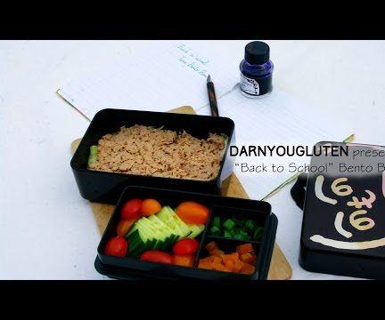 Back to School Tuna Lunch Box (GF)