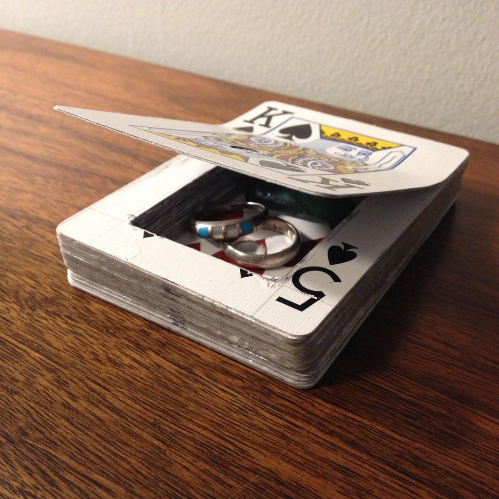 Inconspicuous Card Hiding Place