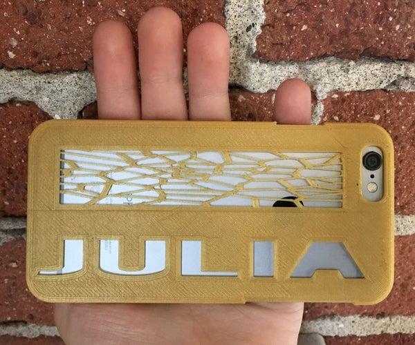 Design and 3D Print a Phone Case