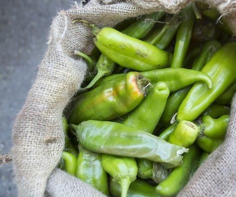 DIY Roasted Green Chiles