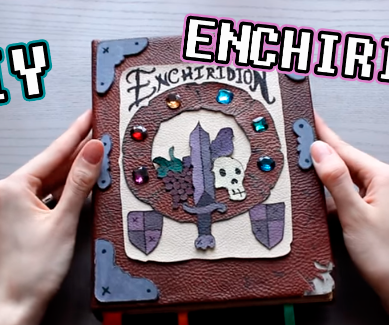 Enchiridion DIY Adventure Time Notebook