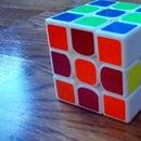 Chess Board on Rubiks Cube