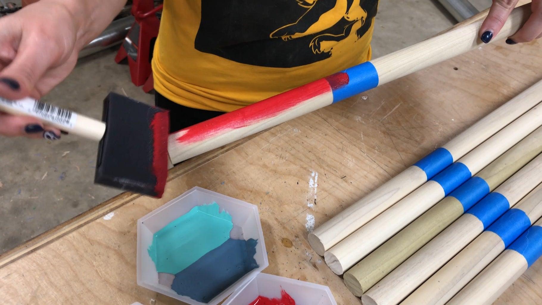 The Colors...Milk Paint! (OPTIONAL)