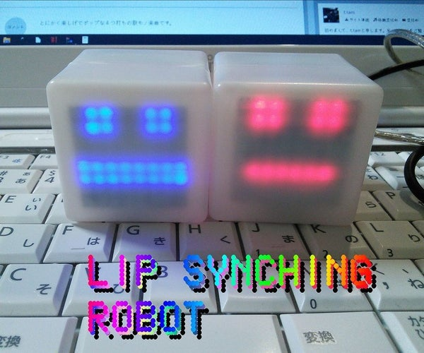 Lip Synching Robot