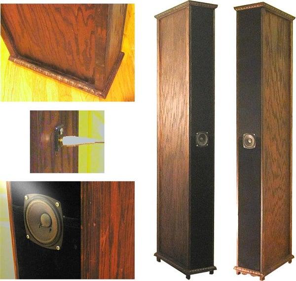 Folded-horn High Accuracy Full-range Speaker System