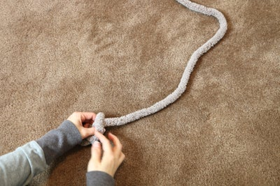 First Row - Create 16 Stitch Chain