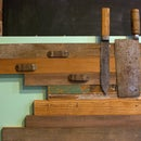 Reclaimed Wood Magnetic Knife Rack