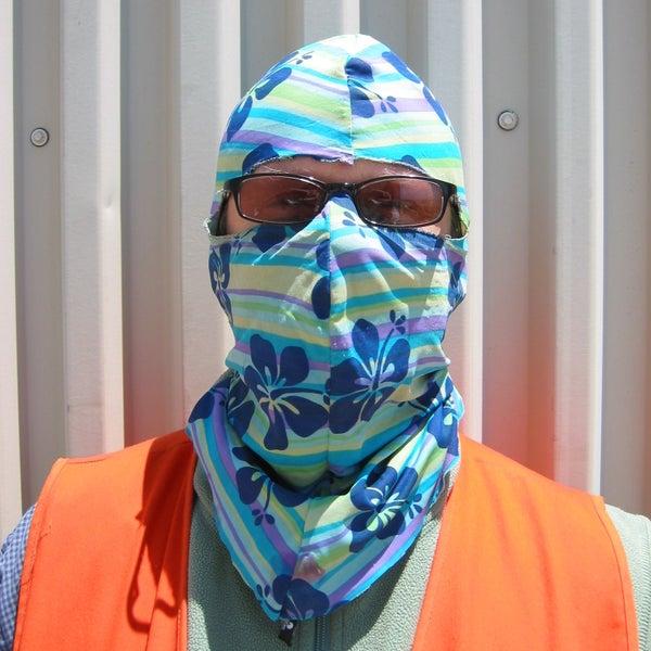 Lycra Sun Mask / Hood
