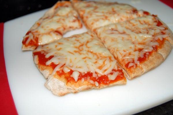 Pita Pizza: the Five Minute Snack