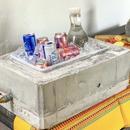 混凝土饮料冷却器!