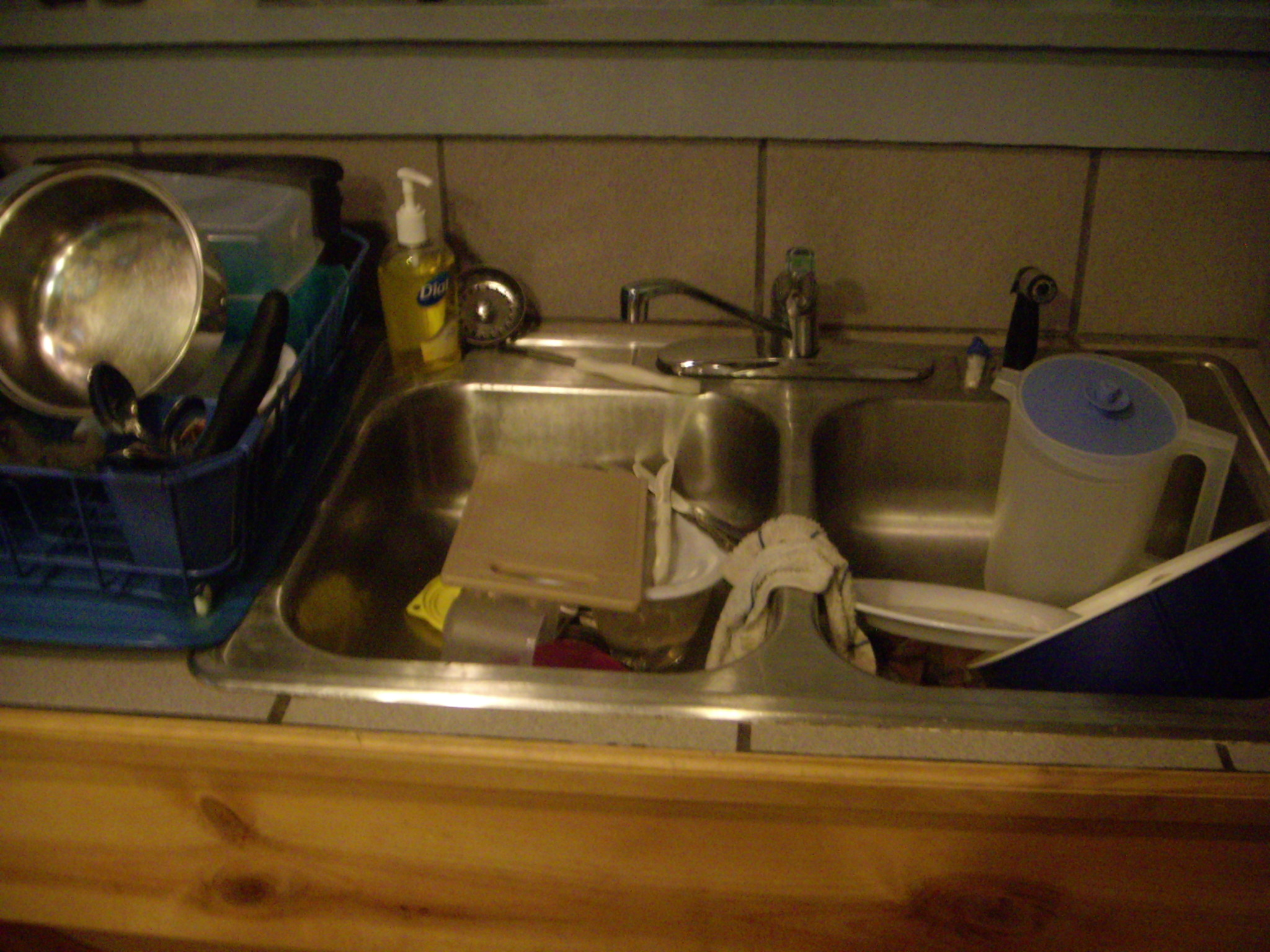 Simplify Doing the Dishes