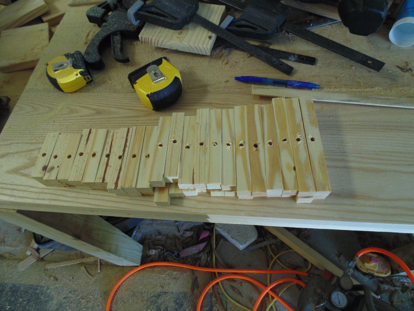 Step 3 : Drilling Your Wood