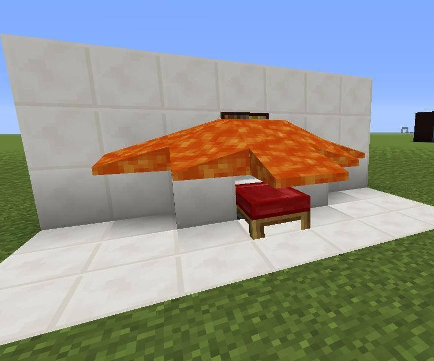 Minecraft Lava bed Trap