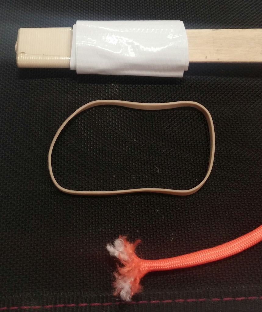 Makeshift Seal of Frayed End of Paracord