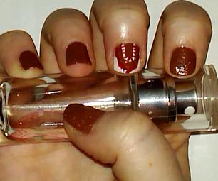 Gingerbread House Nail Art Tutorial   Samantha Beauty