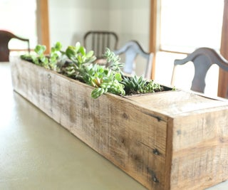 Succulent Planter From Pallet