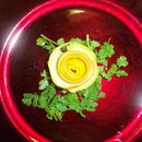 Decorative Lemon Rose