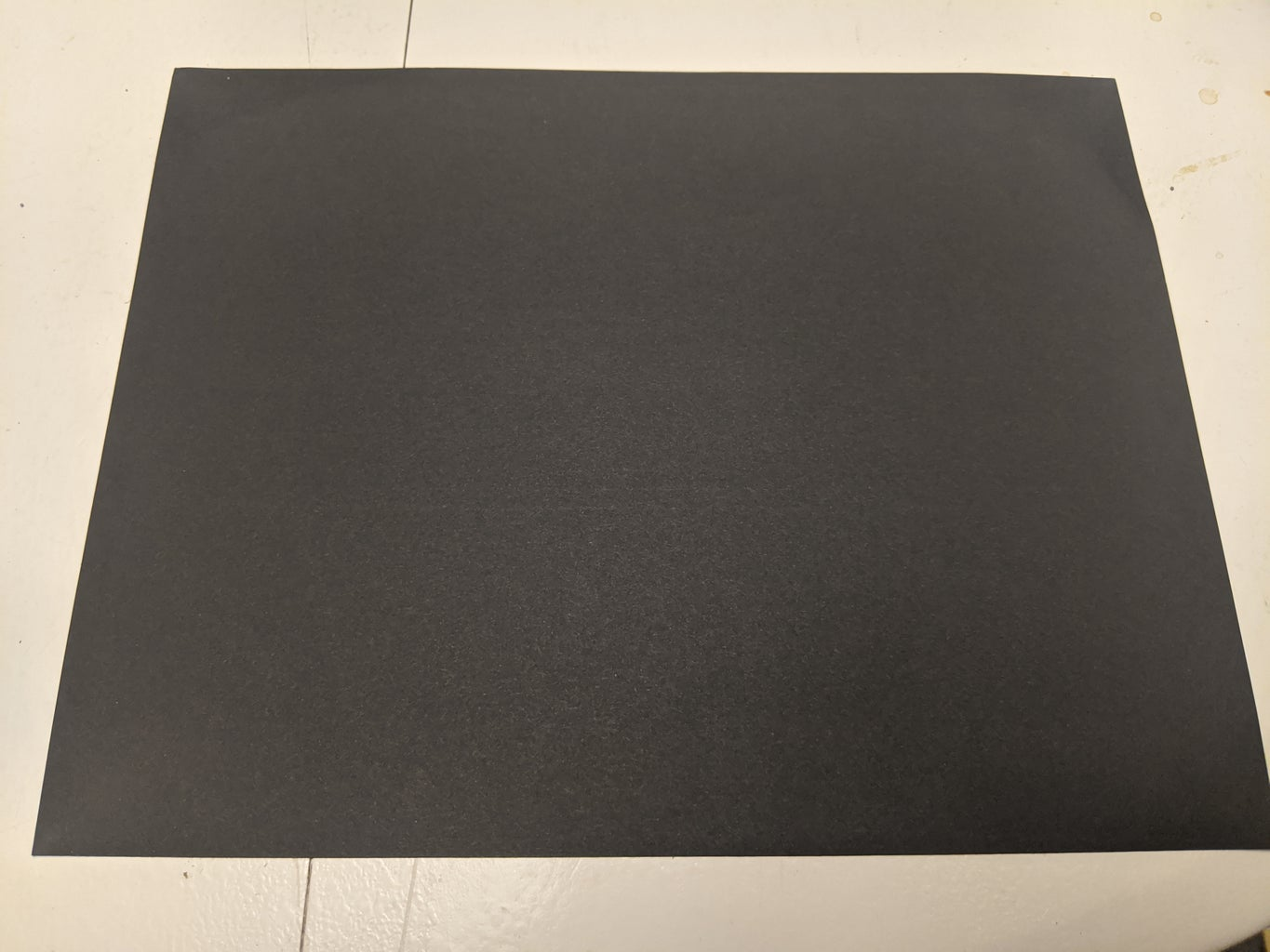 Fold One Piece of Paper in Half.