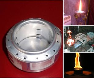 Aluminum Can Stoves