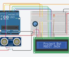 Smart Dustbin Using Arduino, Ultrasonic Sensor & Servo Motor