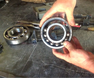 How to Disassemble a Large Ball Bearing and Anneal It