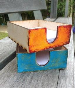 Scrap Paper Box - Custom Design