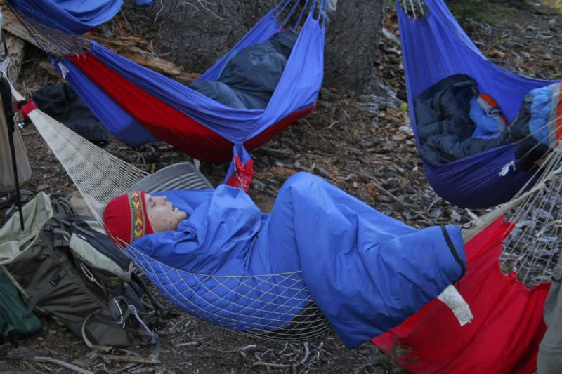 How to backpack better with a hammock