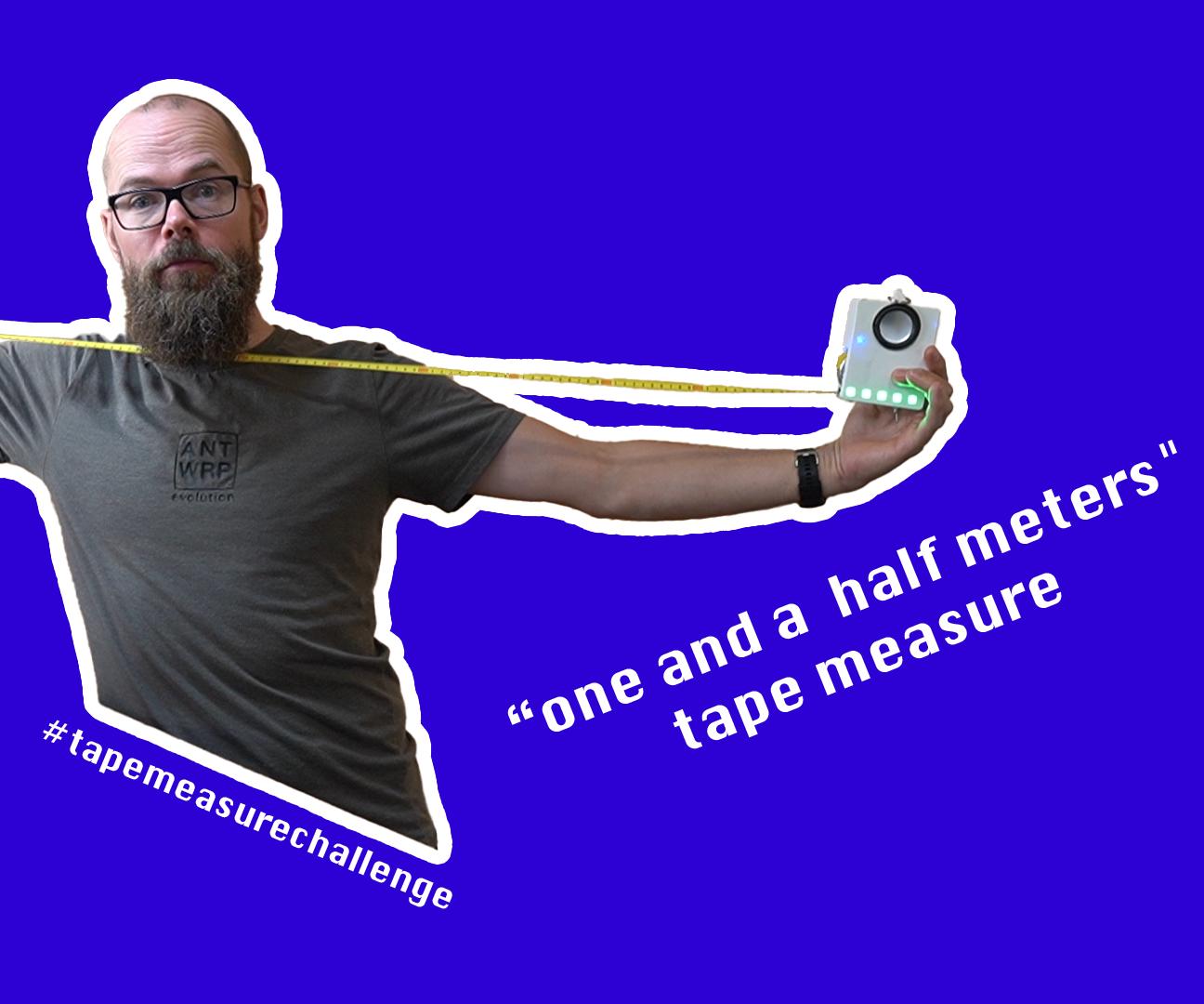 1.50m Social Distancing Tape Measure
