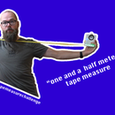 1.50m Social Distancing Tape Measure