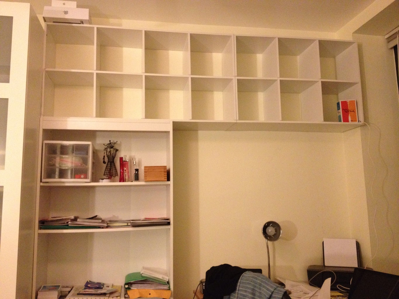 A Quick Note About the Shelf