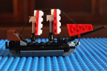 Build Your LEGO Ship