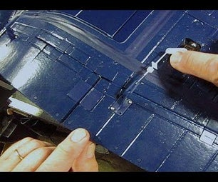 RC Airplane - How to Fix a Wobbly Flap Control Rod