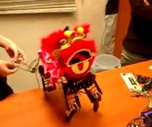 Animatronics: Lion Dance