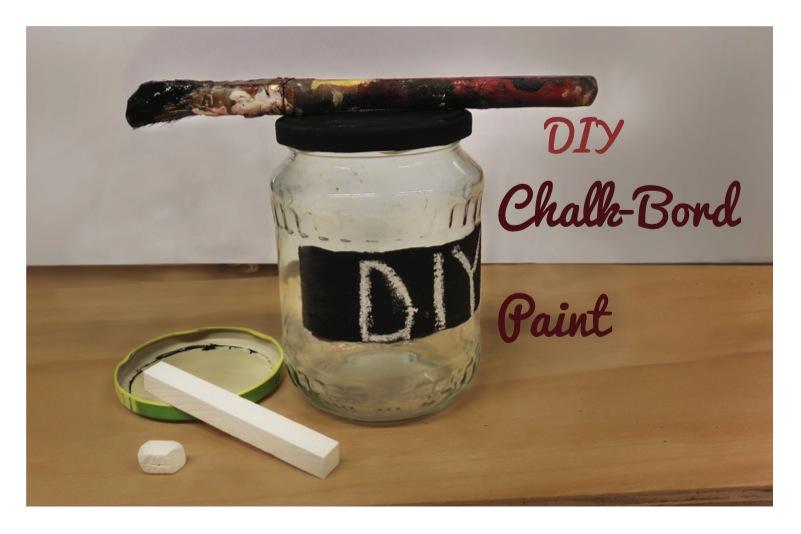 DIY Chalk-Board Paint