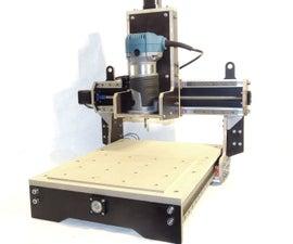 LOW COST DIY 500€ CNC MILL