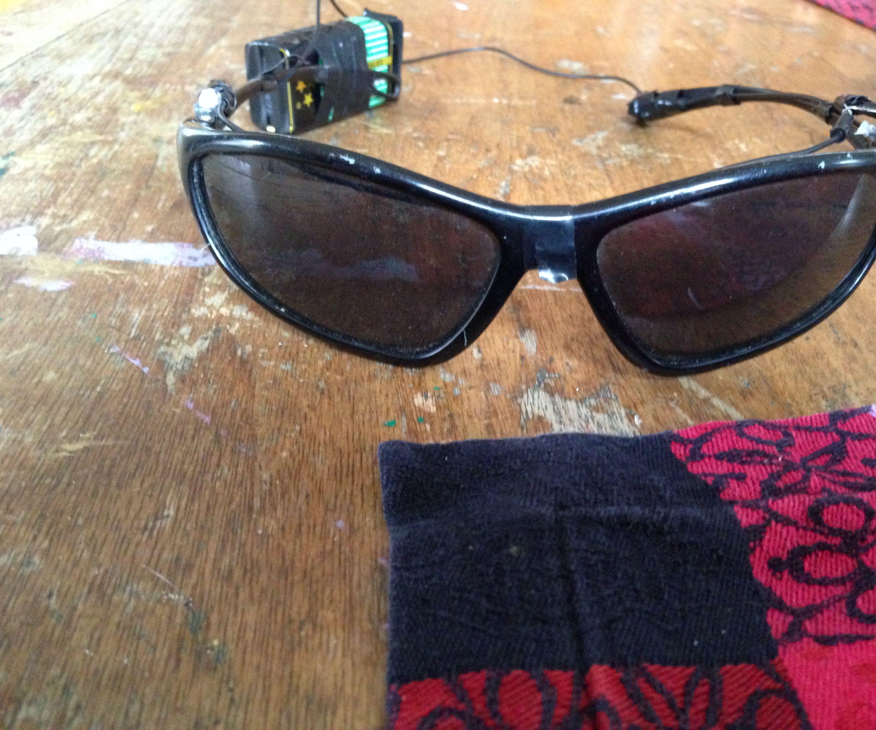 DIY LED Sunglasses