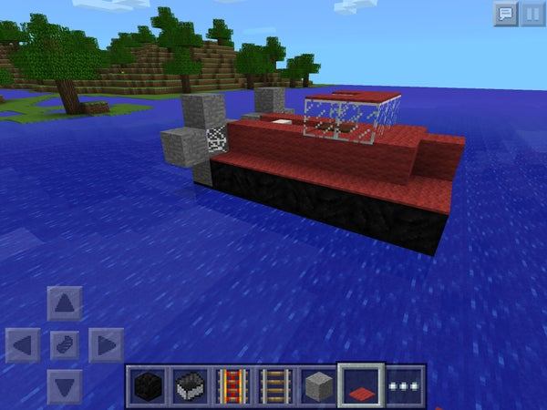 Minecraft Hovercraft!