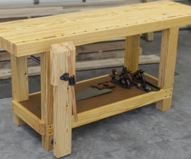 Design and Build a Woodworking Workbench