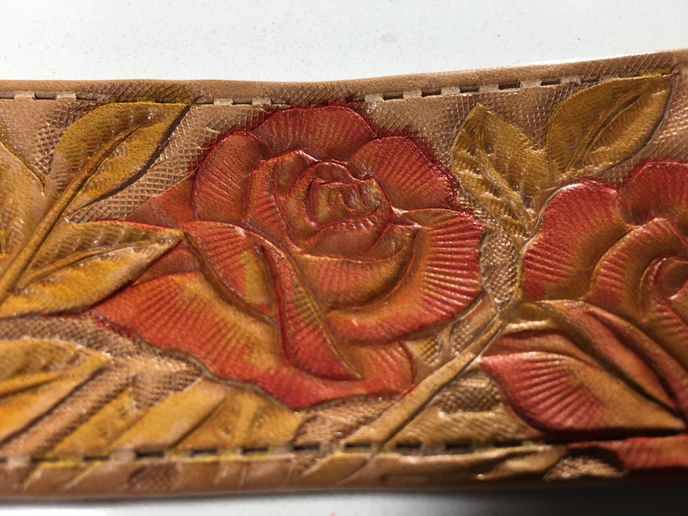 Leather Painting, Layer 2
