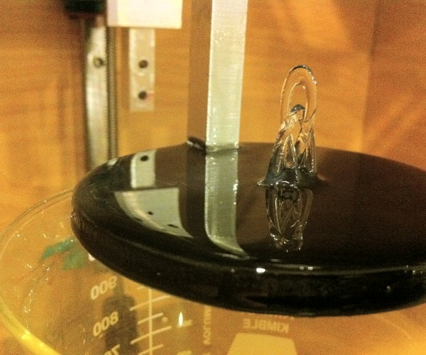 Build a Laser 3D Printer - Stereolithography at Home
