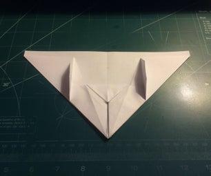 如何制造涡轮式三角纸飞机