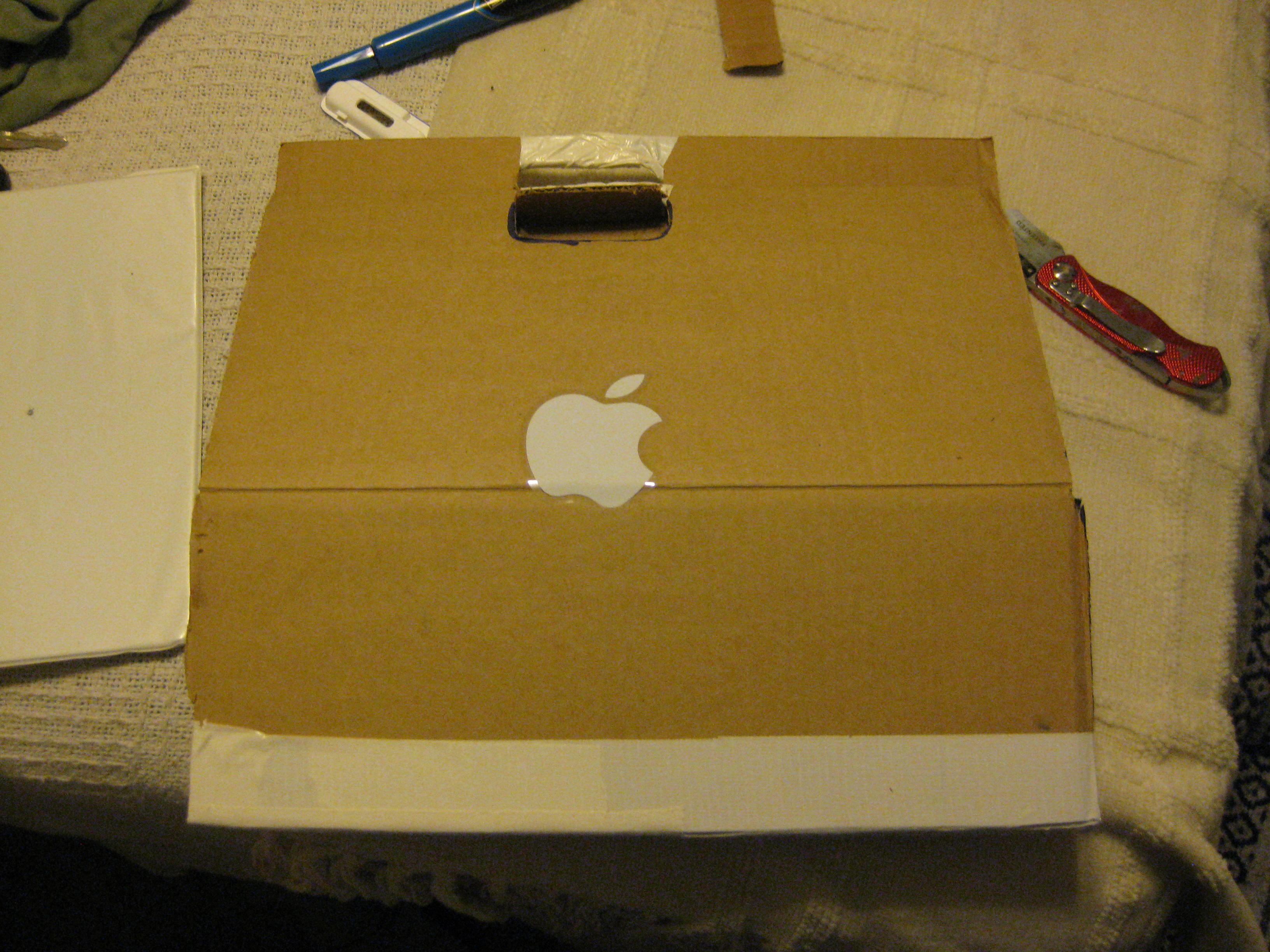 GO GREEN - Cardboard Notebook with Office Supplies!