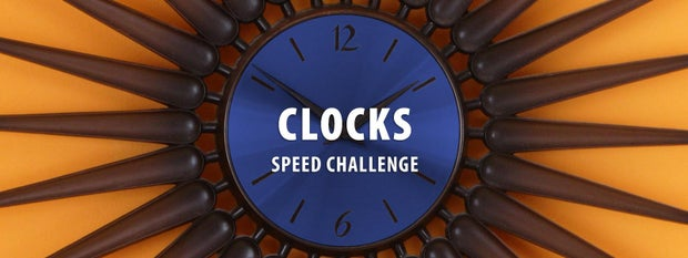 Clocks Speed Challenge