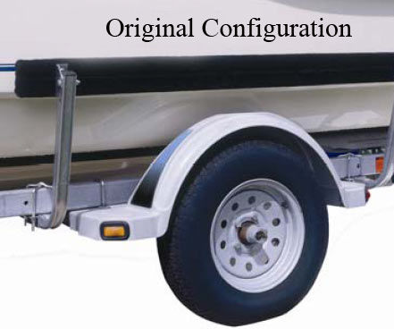 Boat Trailer Guide Modification